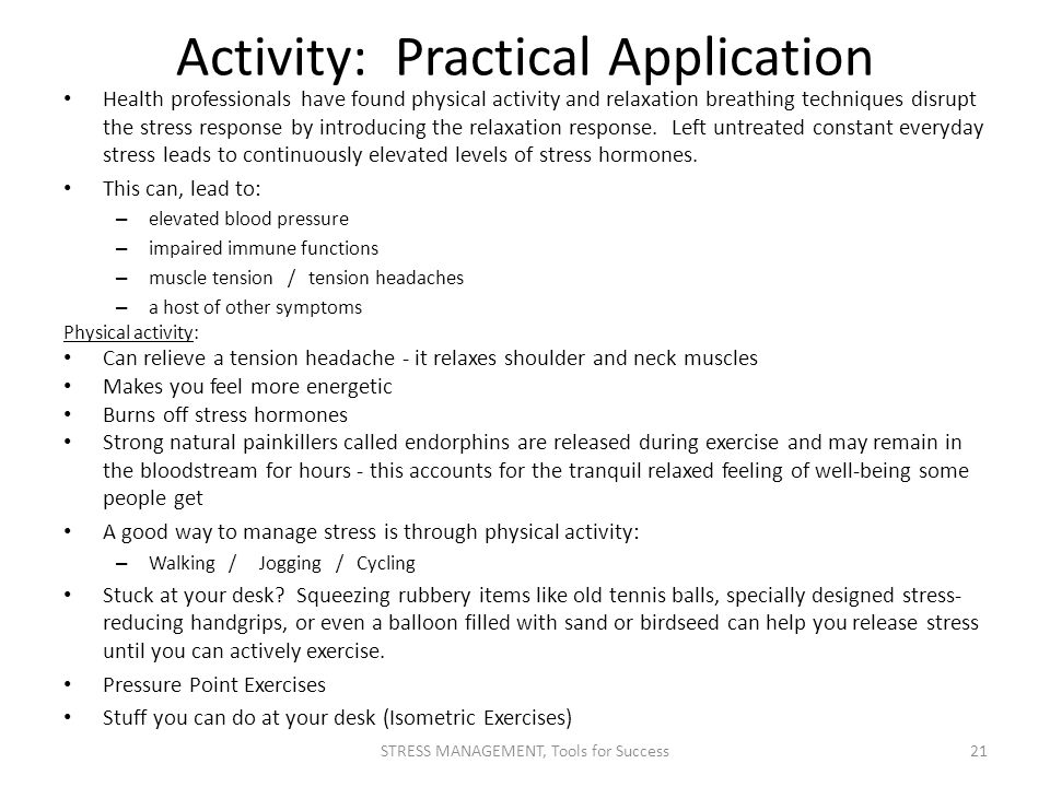 Activity: Practical Application