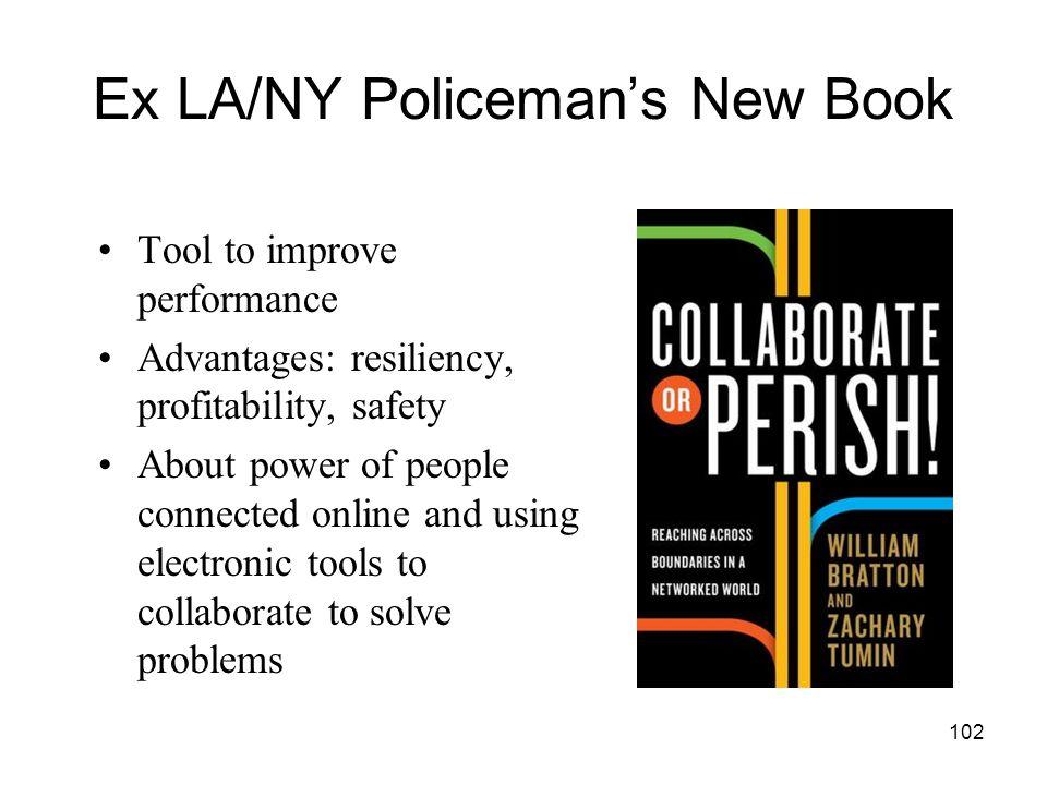 Ex LA/NY Policeman's New Book