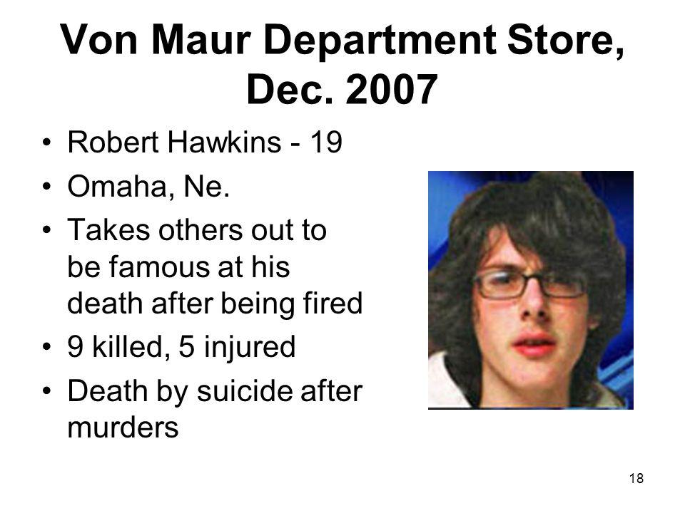 Von Maur Department Store, Dec. 2007