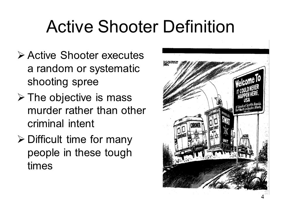 Active Shooter Definition