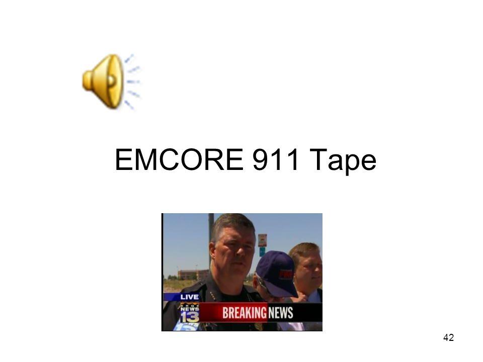 EMCORE 911 Tape