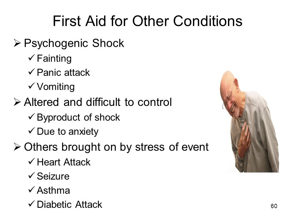 First Aid for Other Conditions