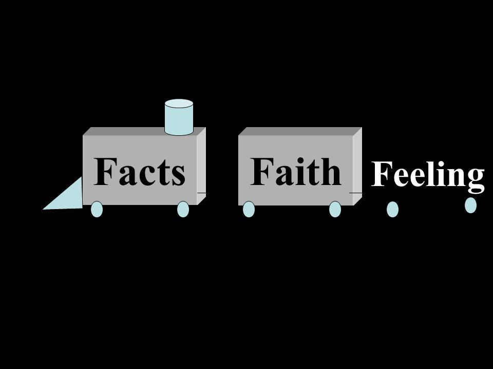 Truth Jesus Facts Faith Feeling