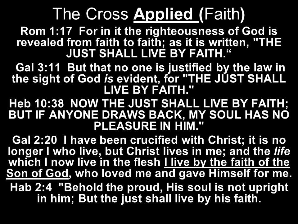 The Cross Applied (Faith)