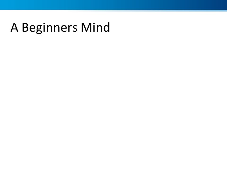 A Beginners Mind Raisin exercise Focus Clarity Calm Openness