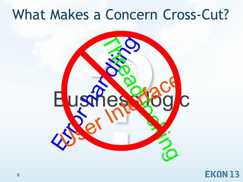 What Makes a Concern Cross-Cut