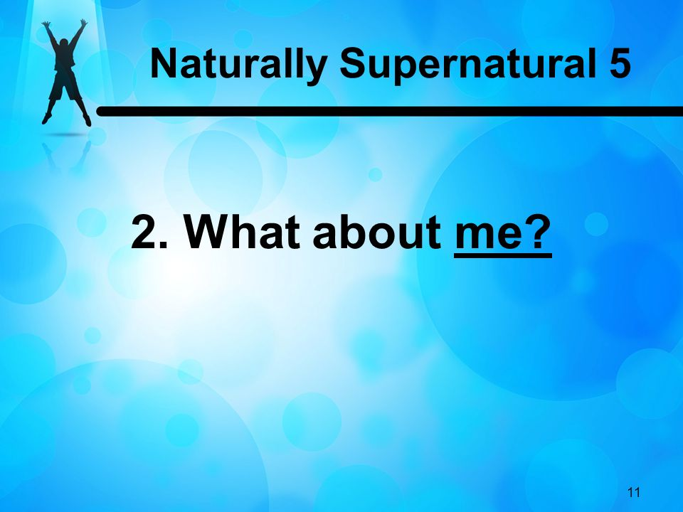 Naturally Supernatural 5