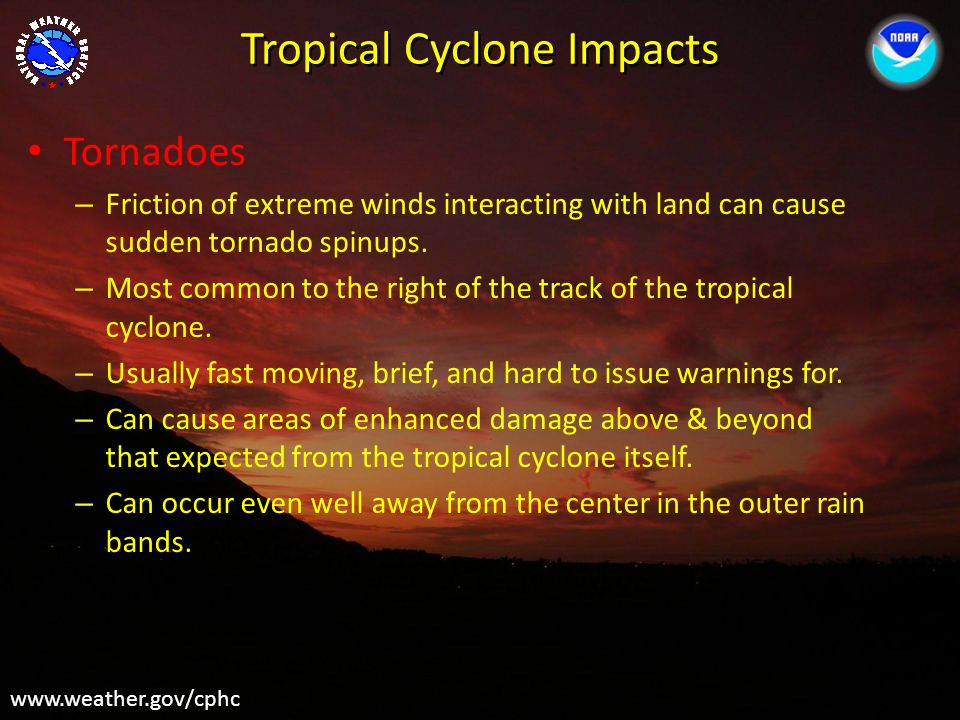 Tropical Cyclone Impacts