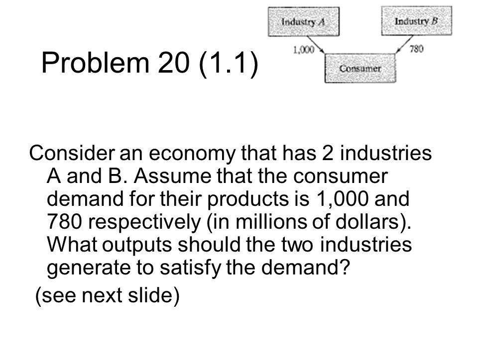 Problem 20 (1.1)