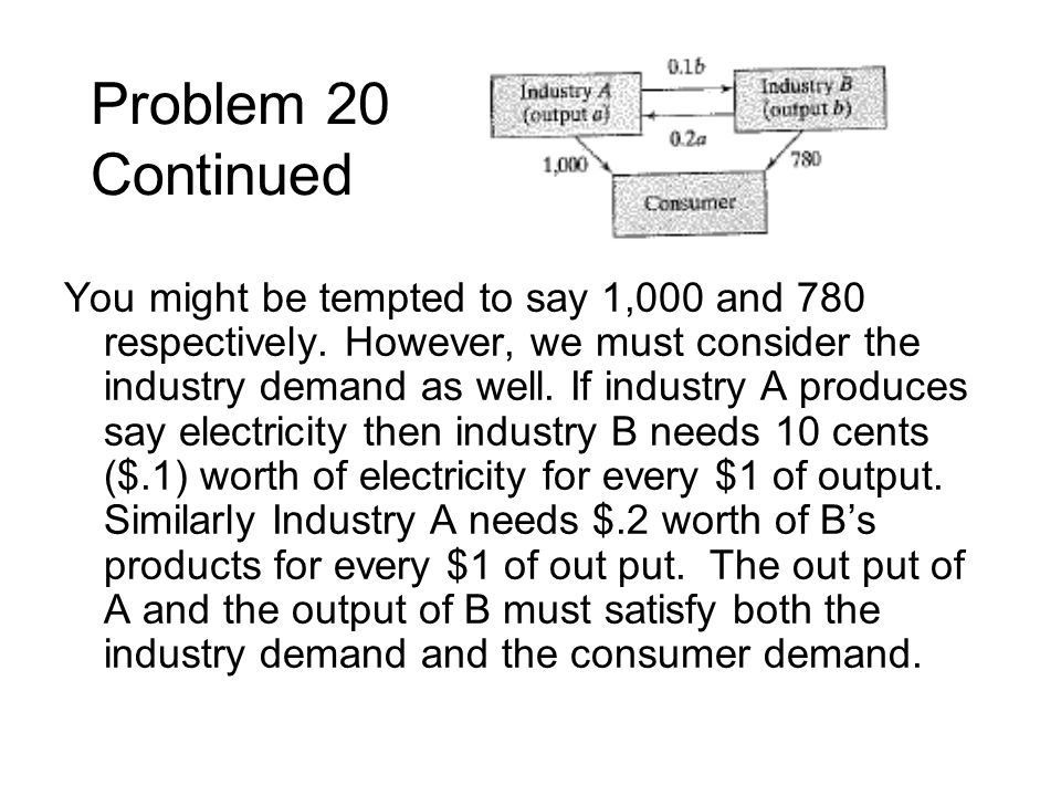 Problem 20 Continued