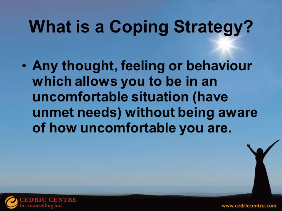 What is a Coping Strategy