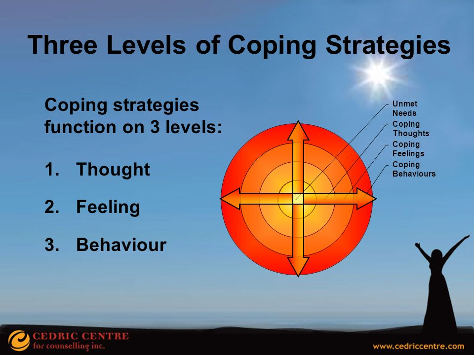 Three Levels of Coping Strategies