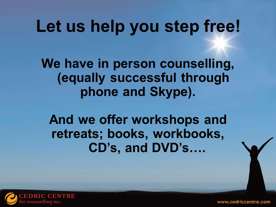 Let us help you step free!