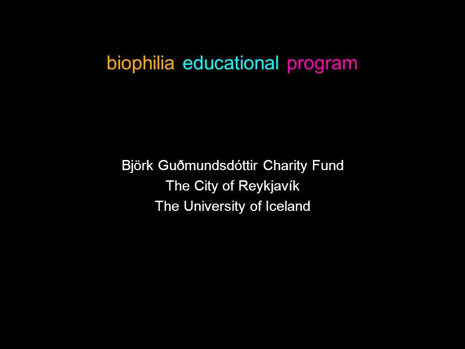 biophilia educational program