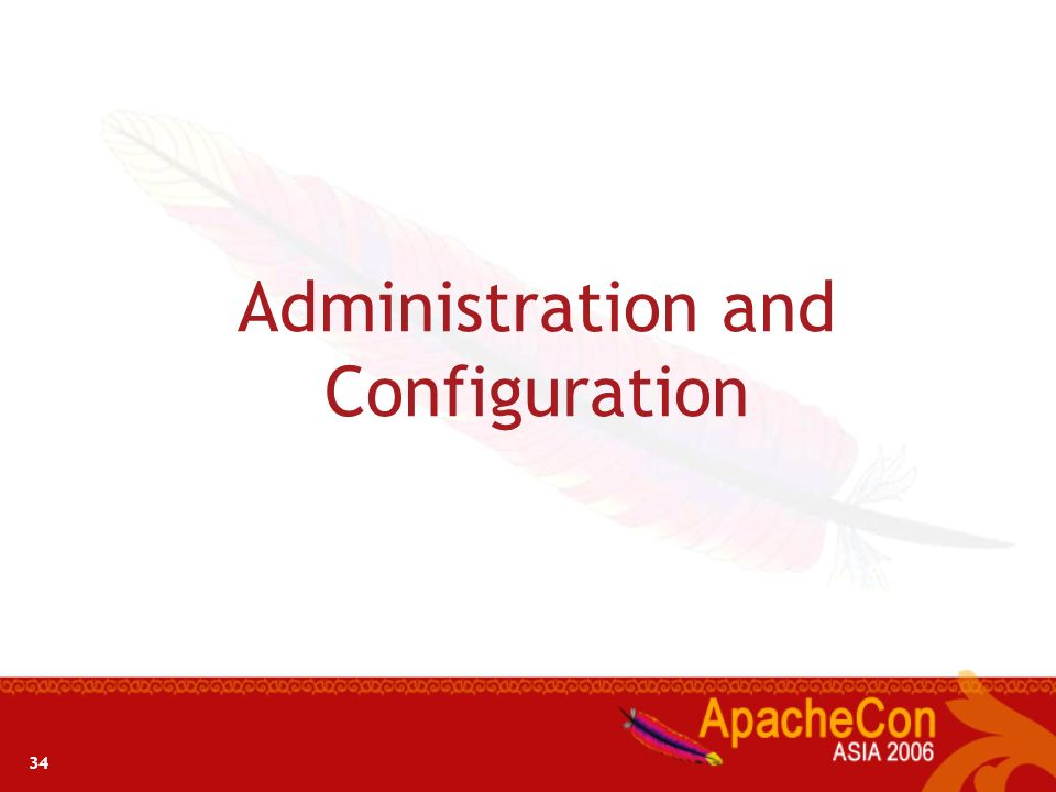 Administration and Configuration