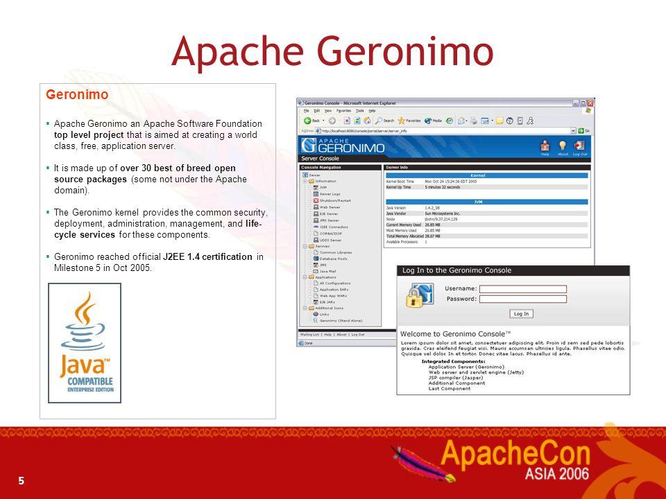 Apache Geronimo Geronimo