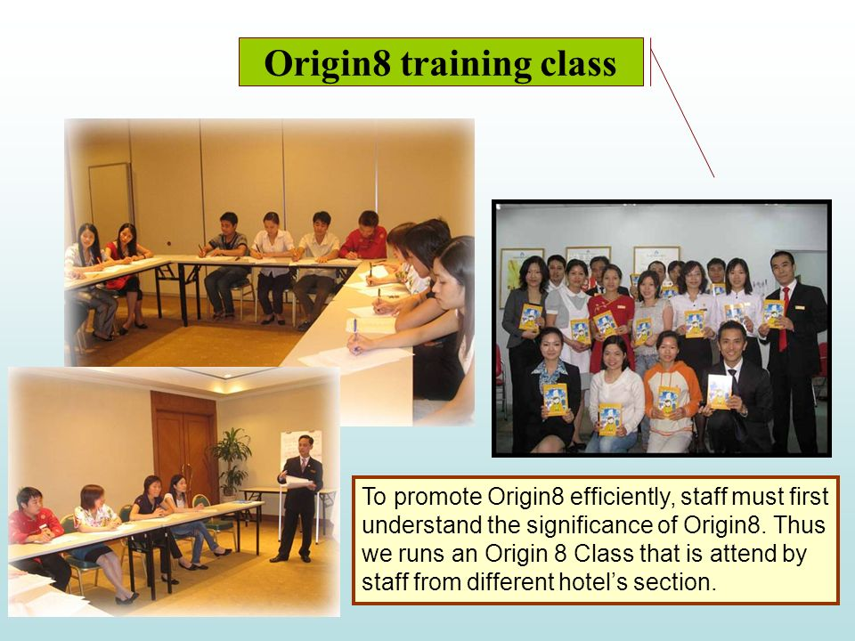 Origin8 training class