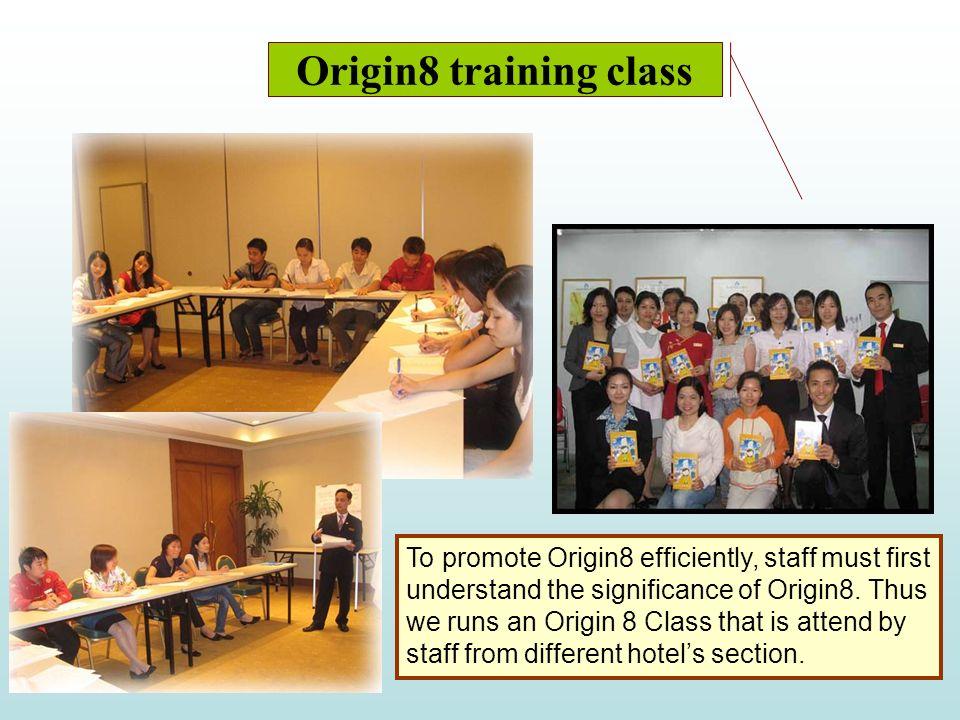 Origin8 training class