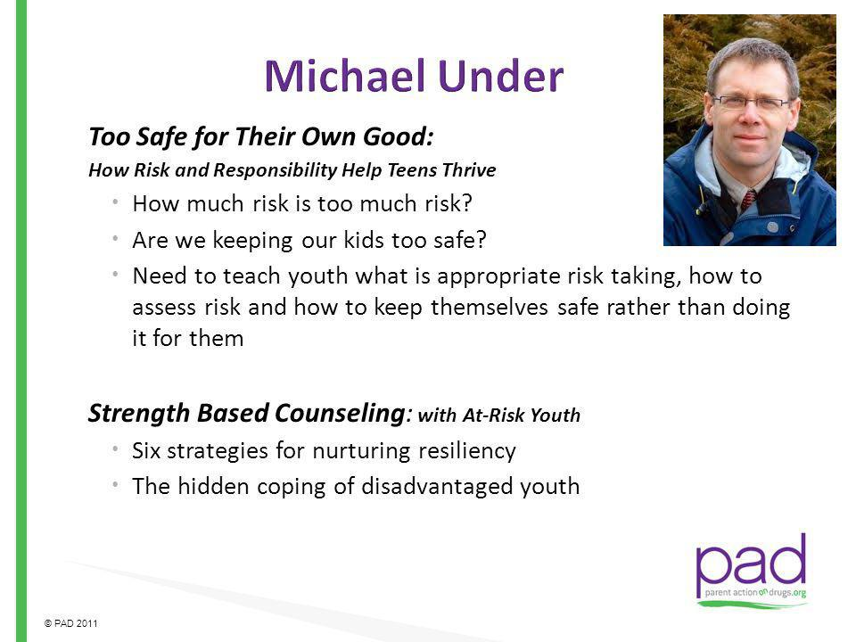 Michael Under Too Safe for Their Own Good: