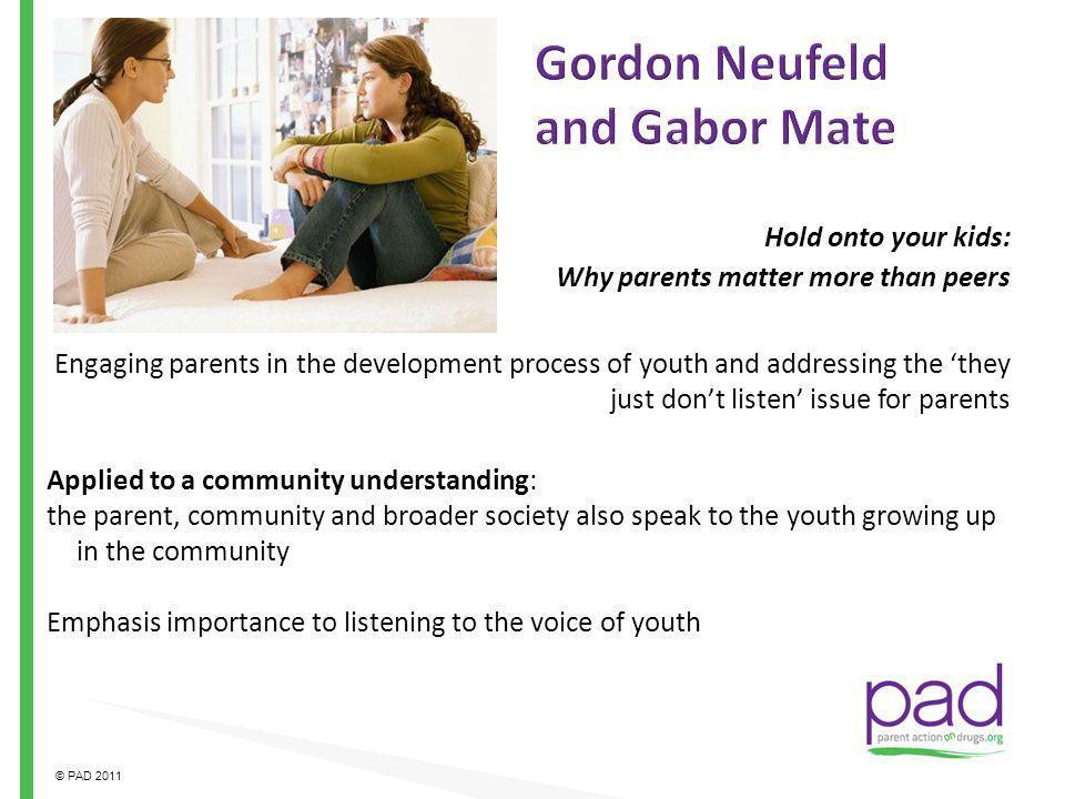 Gordon Neufeld and Gabor Mate