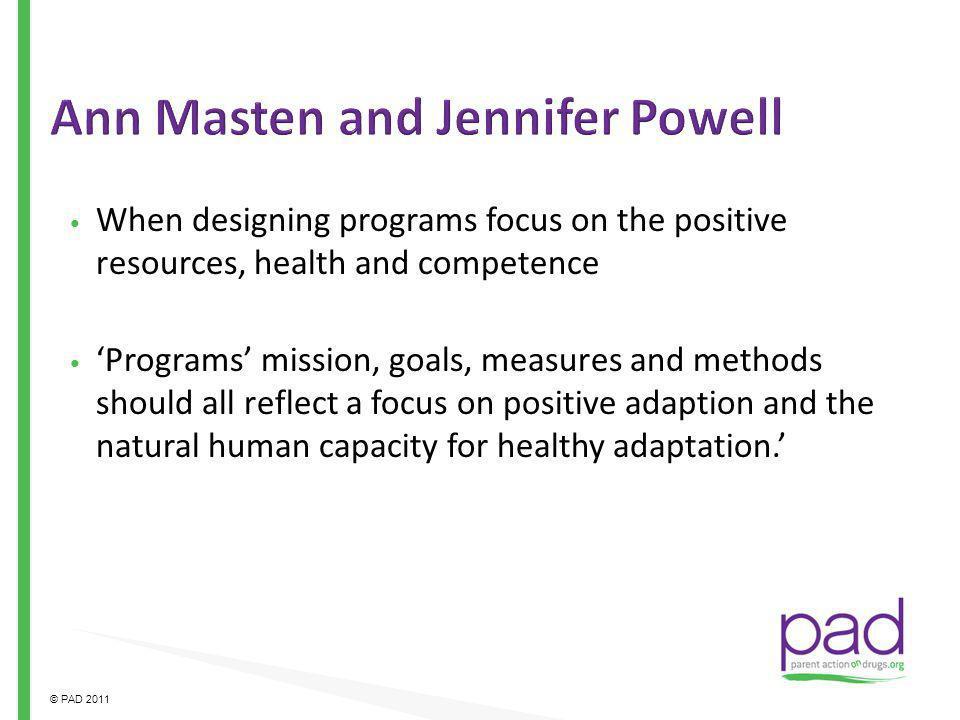 Ann Masten and Jennifer Powell
