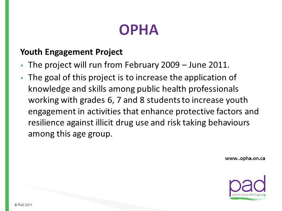 OPHA Youth Engagement Project