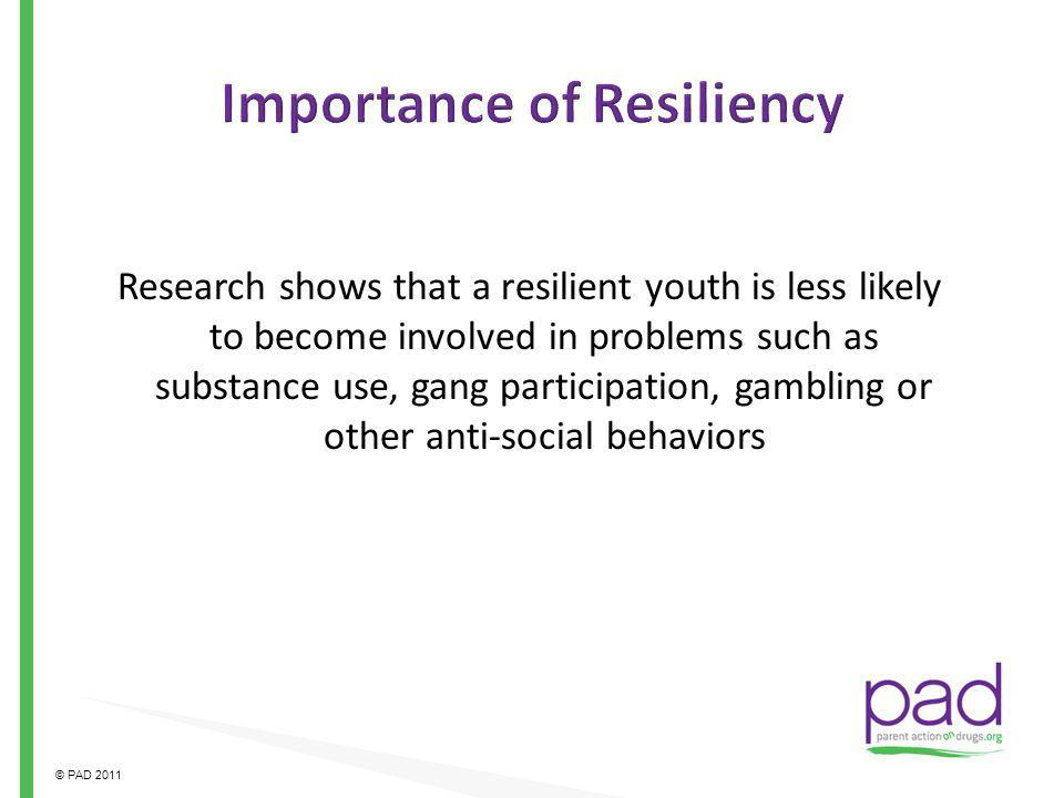 Importance of Resiliency