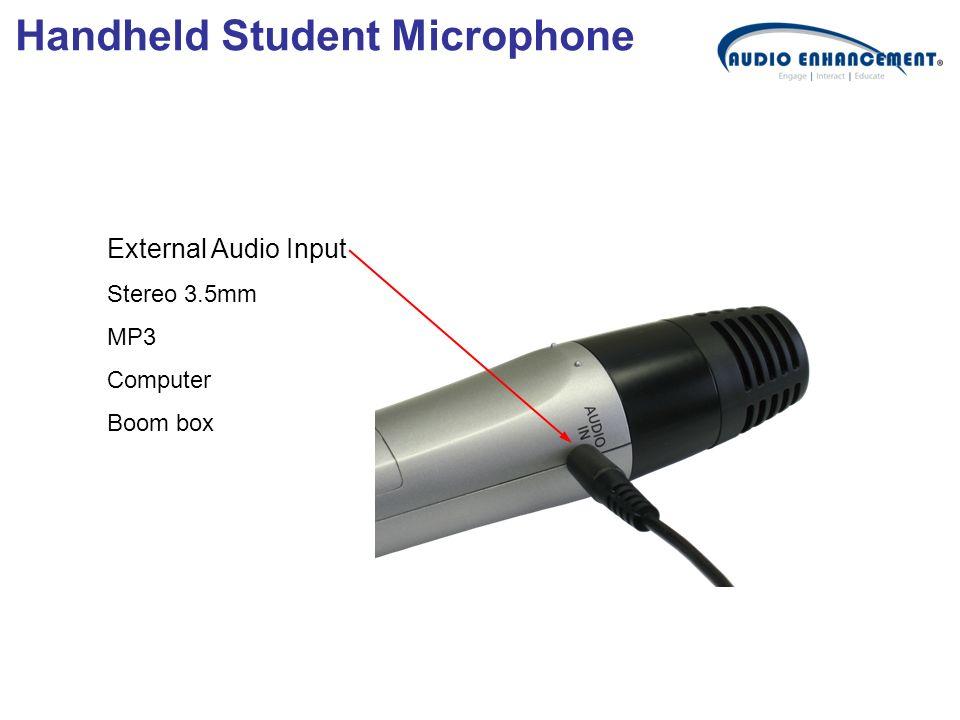 Handheld Student Microphone