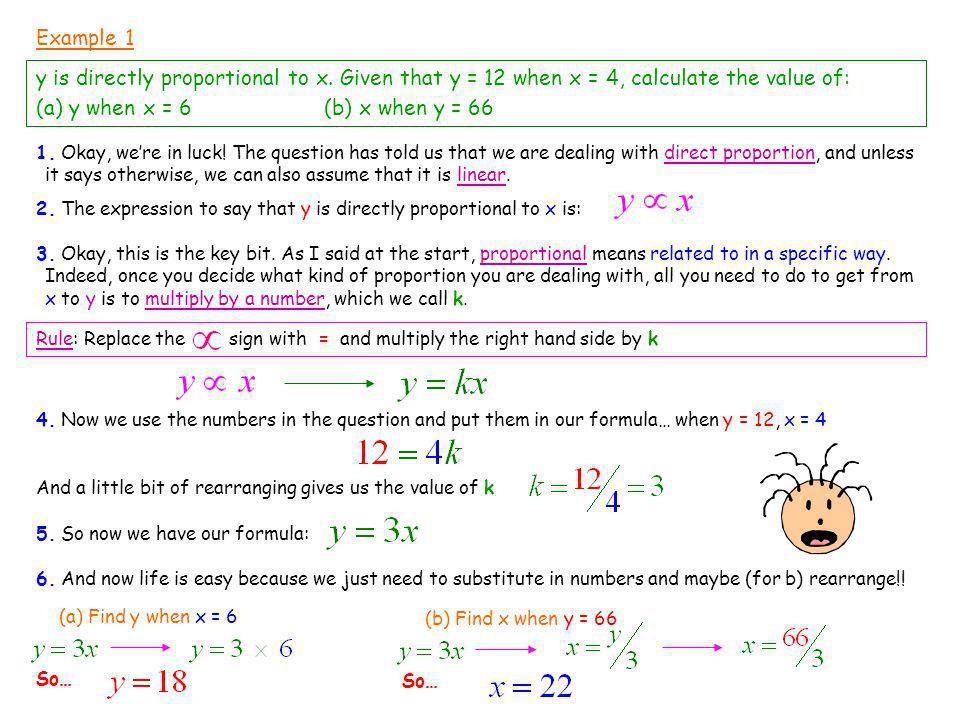 (a) y when x = 6 (b) x when y = 66
