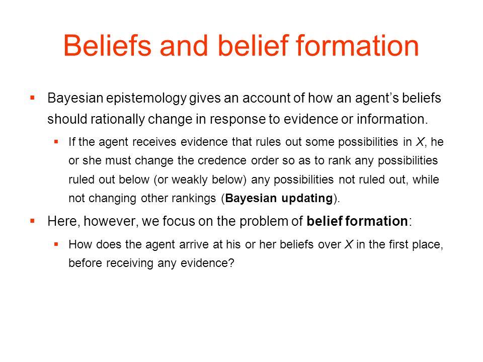 Beliefs and belief formation