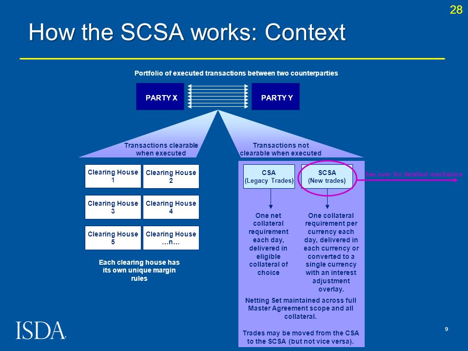 How the SCSA works: Context
