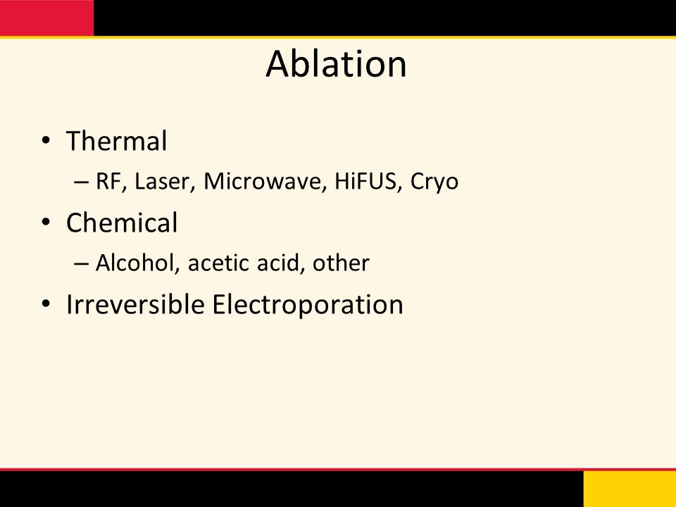 Ablation Thermal Chemical Irreversible Electroporation