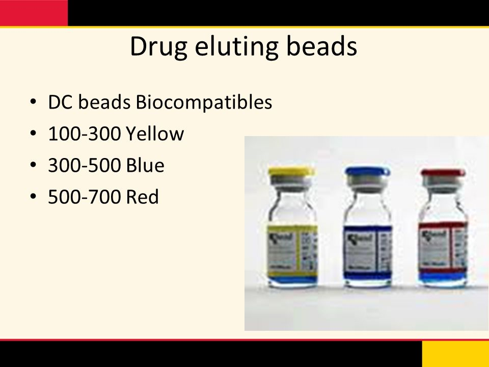 Drug eluting beads DC beads Biocompatibles 100-300 Yellow 300-500 Blue