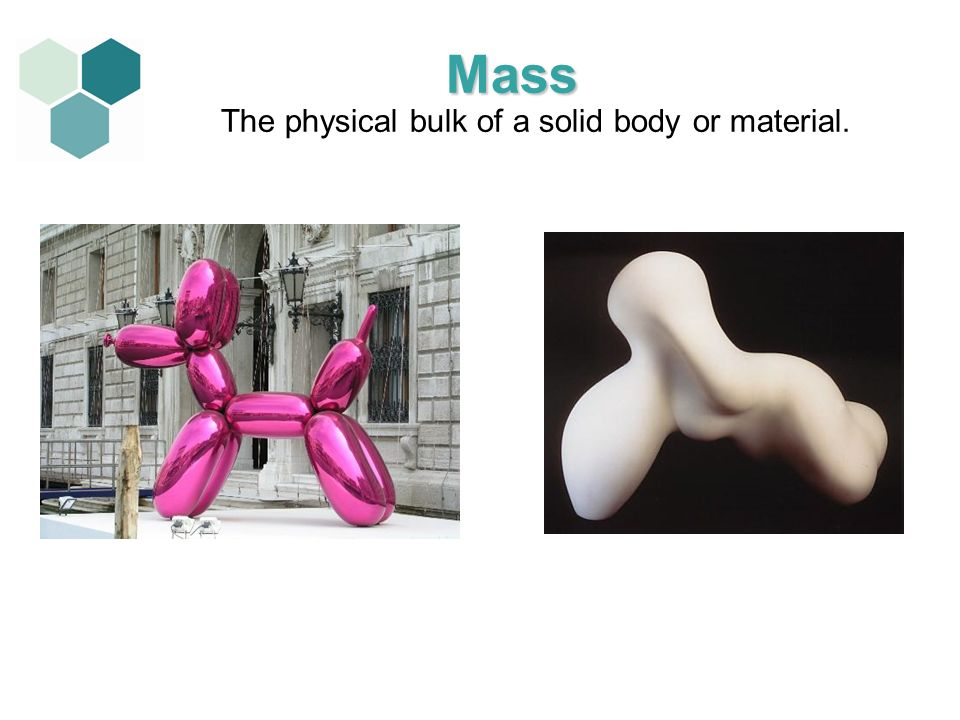 The physical bulk of a solid body or material.
