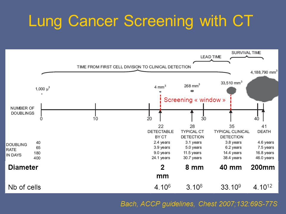 Lung Cancer Screening with CT
