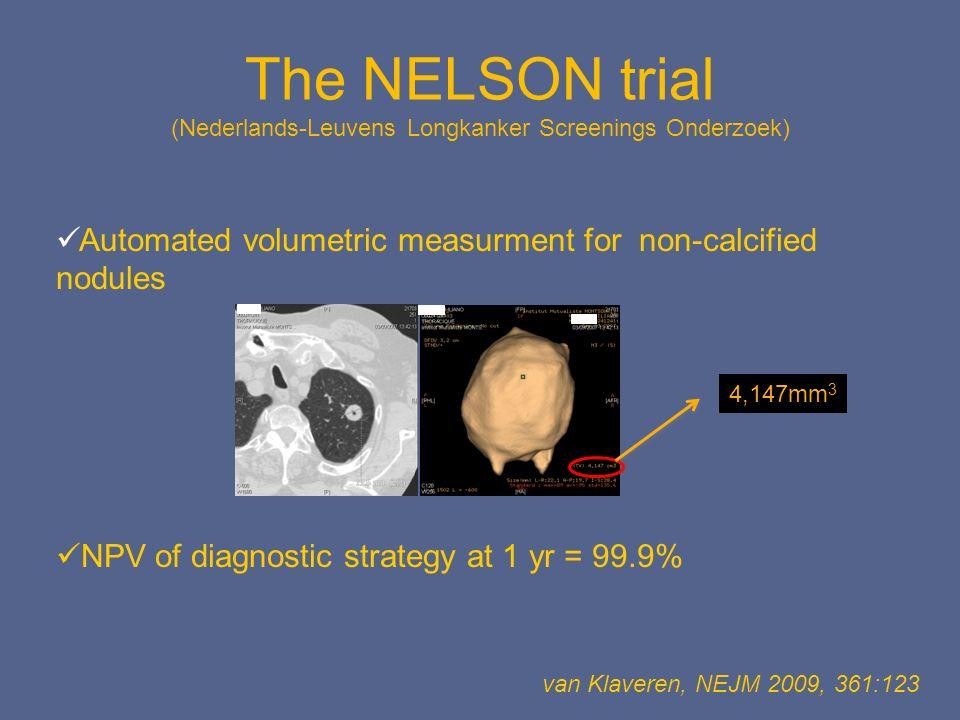 The NELSON trial (Nederlands-Leuvens Longkanker Screenings Onderzoek)