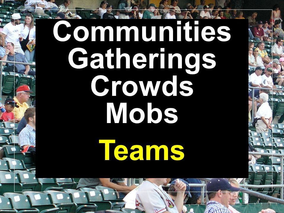 Communities Gatherings