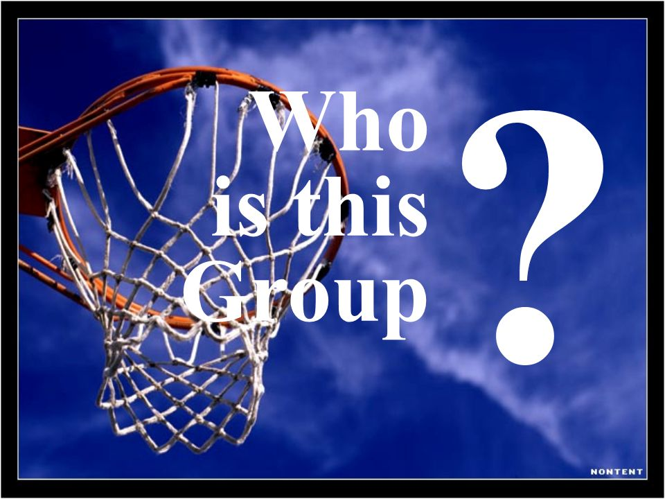 Who is this Group