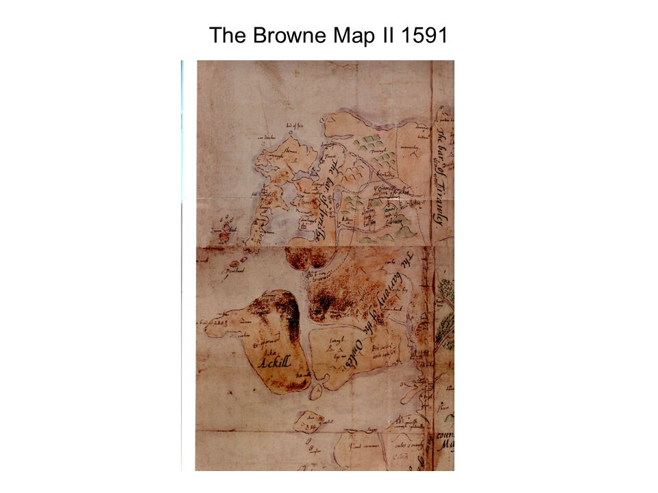 The Browne Map II 1591