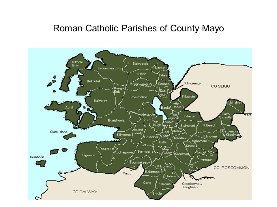 Roman Catholic Parishes of County Mayo