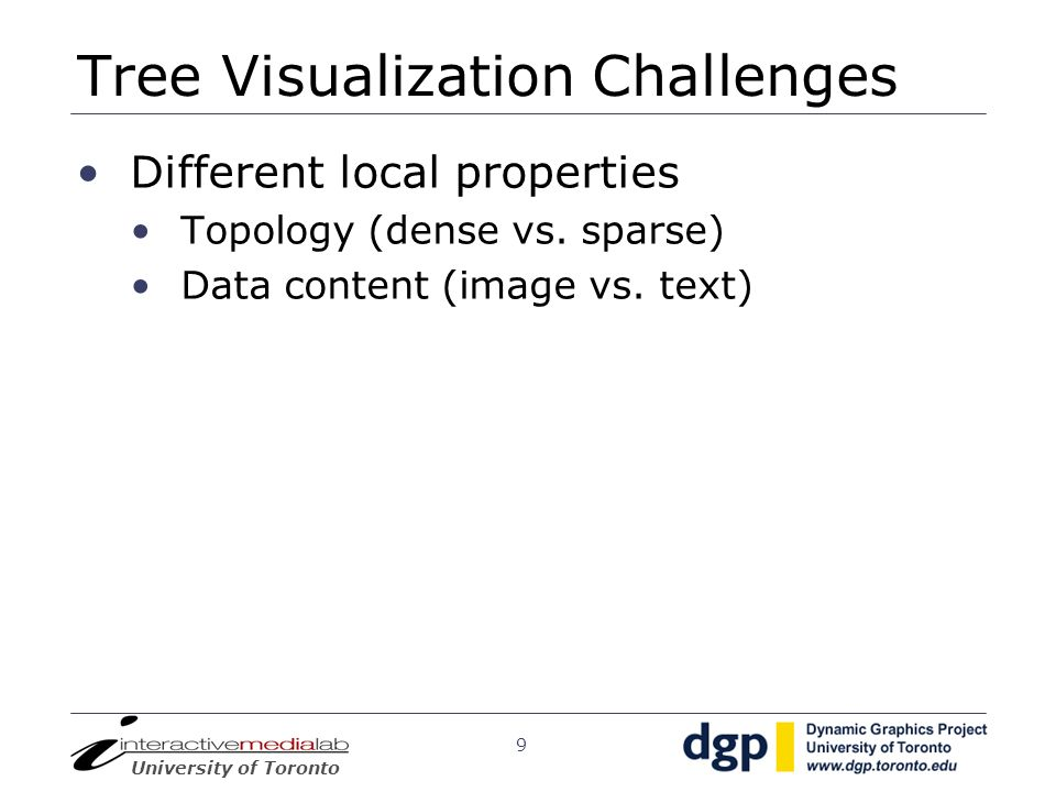 Tree Visualization Challenges