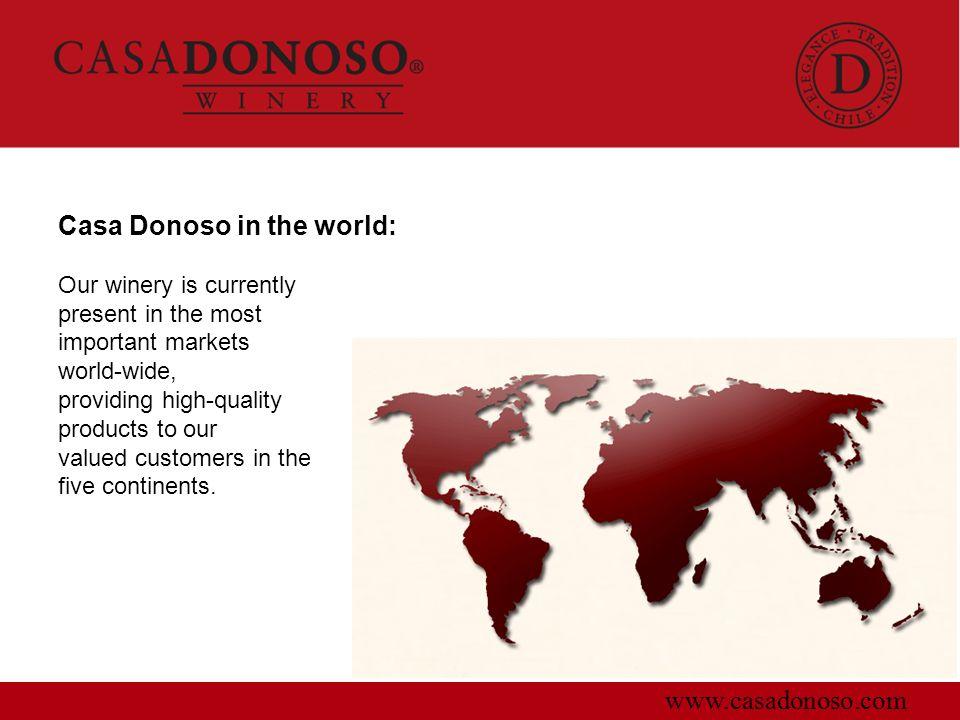 Casa Donoso in the world: