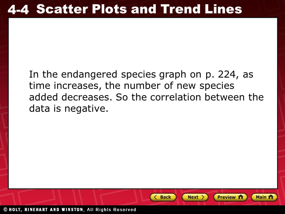 In the endangered species graph on p
