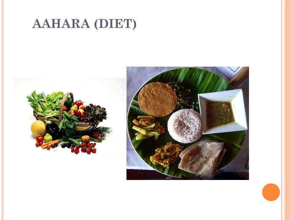 AAHARA (DIET) 5
