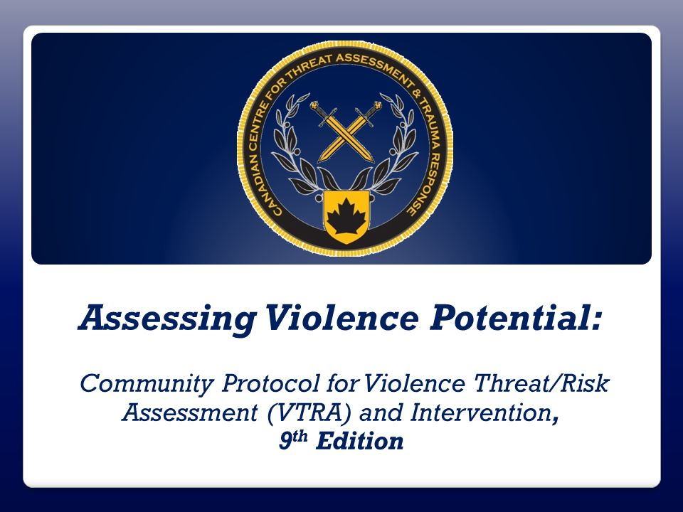 Assessing Violence Potential: