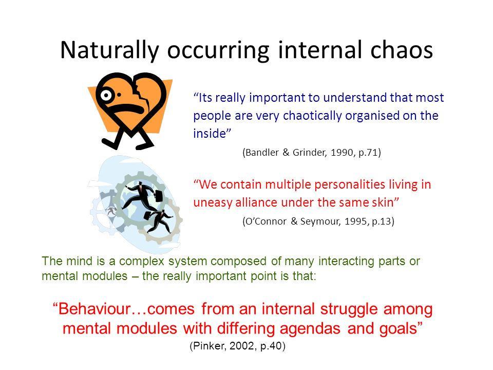 Naturally occurring internal chaos