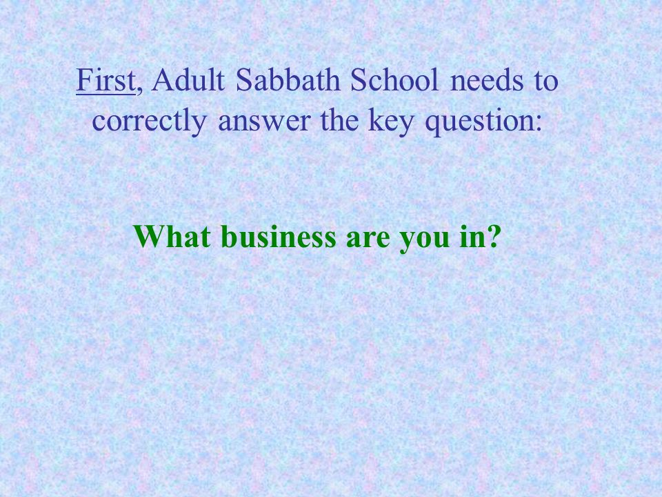 What business are you in