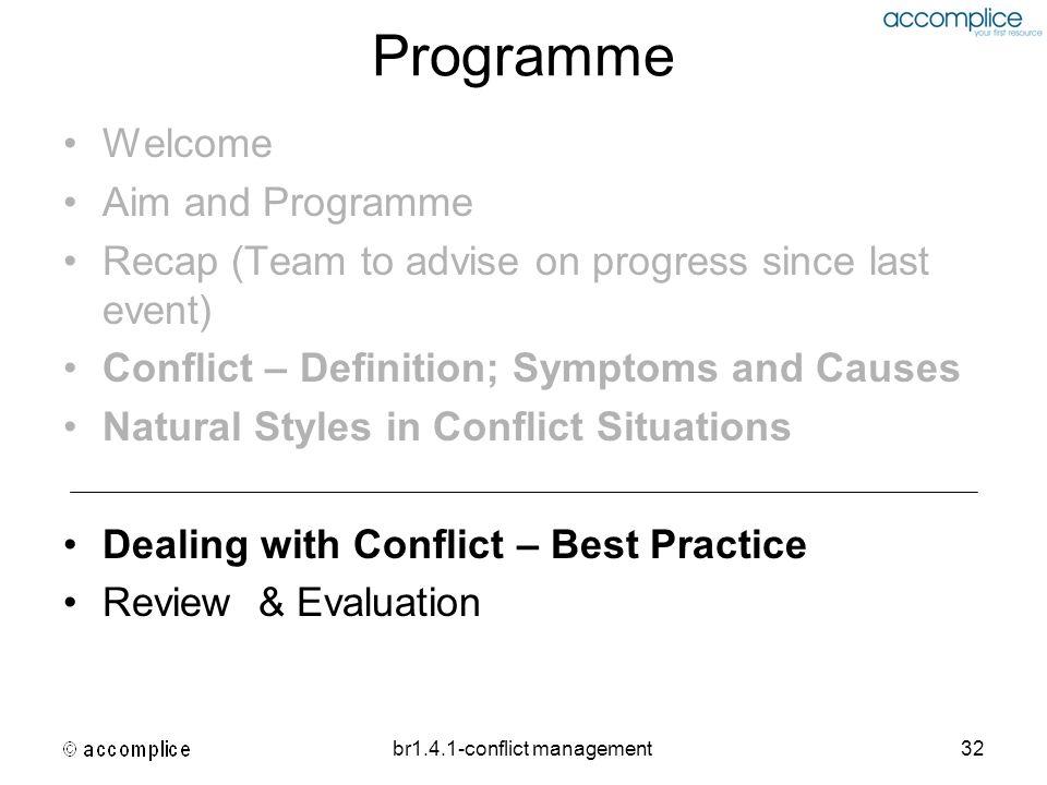 br1.4.1-conflict management