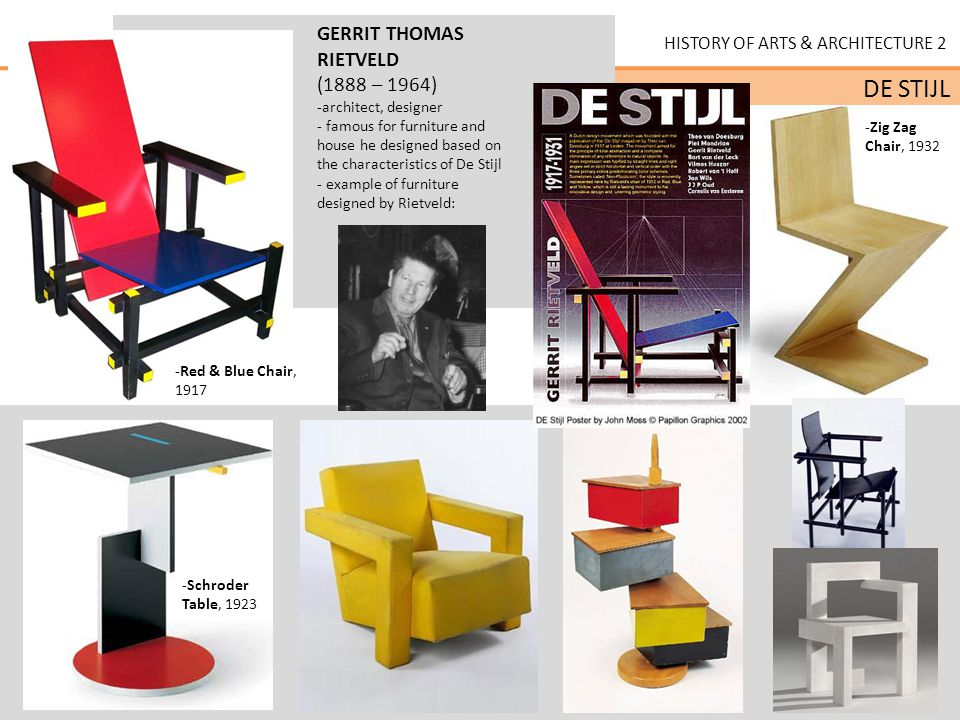 CHARACTERISTICS of DE STIJL: ideas of spiritual harmony ... | 960 x 720 jpeg 104kB