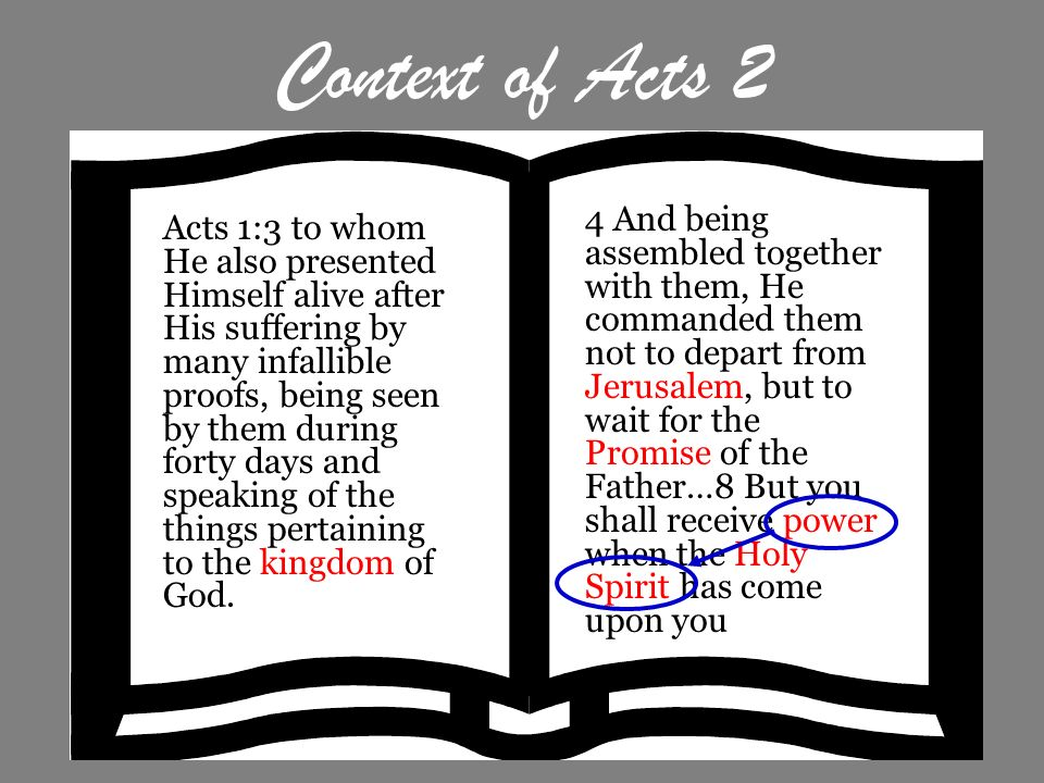 Context of Acts 2